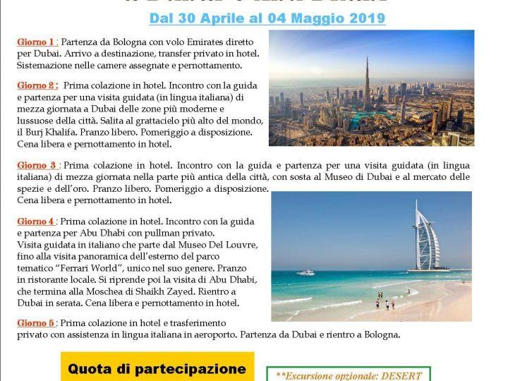 Bazaar Viaggi propone Viaggio di gruppo a Dubai e Abu Dhabi